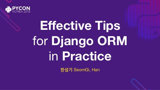 Effective Tips