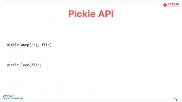 PyCon KR 2019] Pickle & Custom Binary Serializer