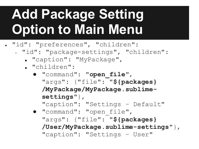 how to add packages to sublime text 2