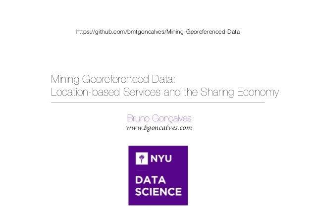 Mining Georeferenced Data