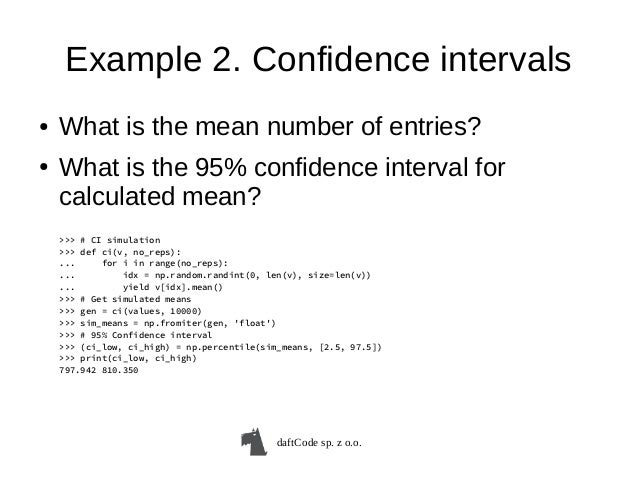 Statistical inference for (Python) Data Analysis  An