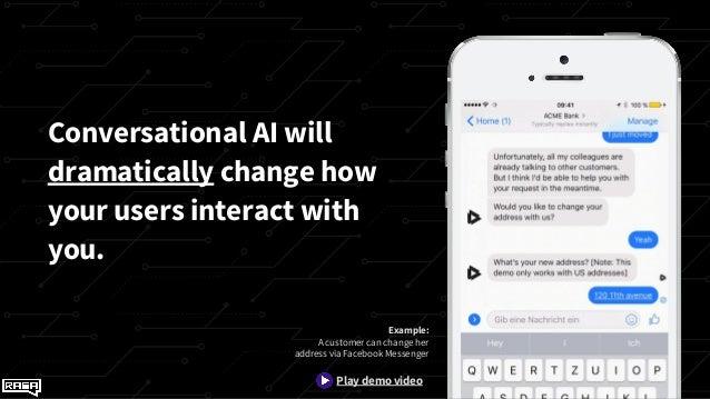 Conversational AI with Rasa - PyData Workshop Slide 2