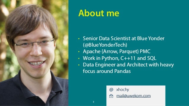 PyData Amsterdam 2018 –Building customer-visible data science dashboards with Altair / Vega / Vue Slide 2