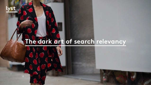 The dark art of search relevancy
