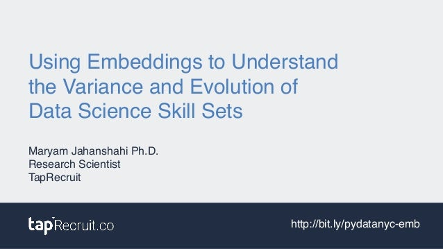 Using Embeddings to Understand 