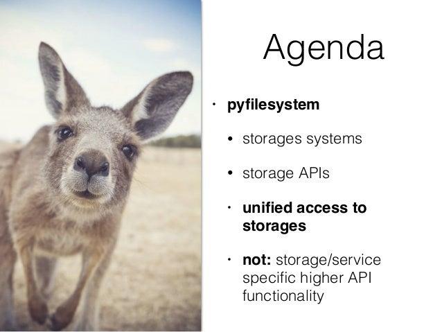 PyFilesystem Slide 3
