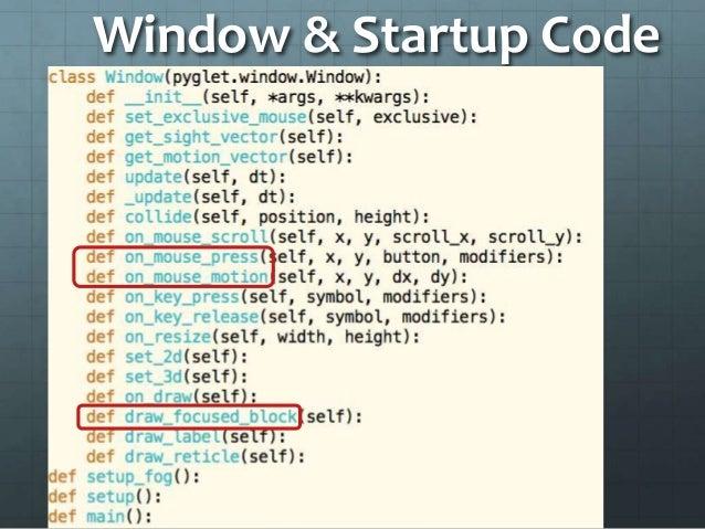 code minecraft python Windows