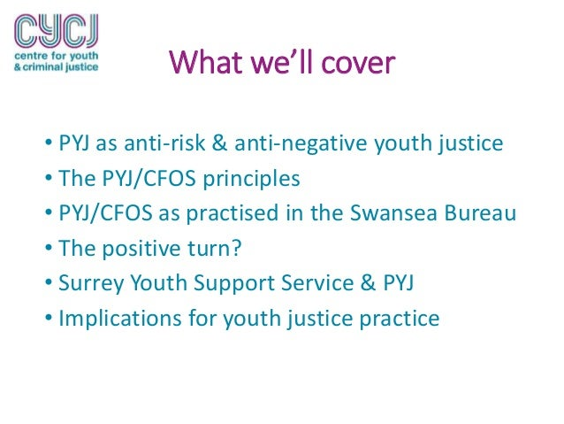 risk factor prevention paradigm youth justice The dominant discourse in youth justice policy and practice for the last two decades has been one of risk management underpinned by the risk factor prevention paradigm (rfpp) deriving.