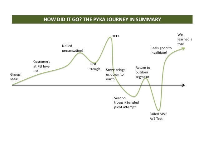 HOW DID IT GO? THE PYKA JOURNEY IN SUMMARY                                                   DEE!                         ...