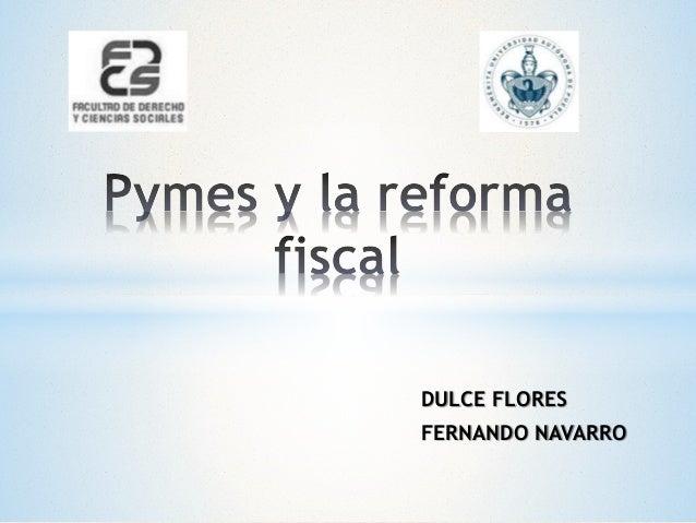 DULCE FLORES FERNANDO NAVARRO
