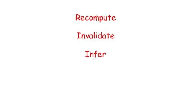 Javascript Objects DOM Javascript Objects DOM Web Apps Infer Recompute