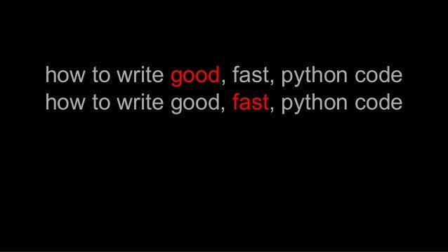 PyParis2017 / Performant python, by Burkhard Kloss Slide 3