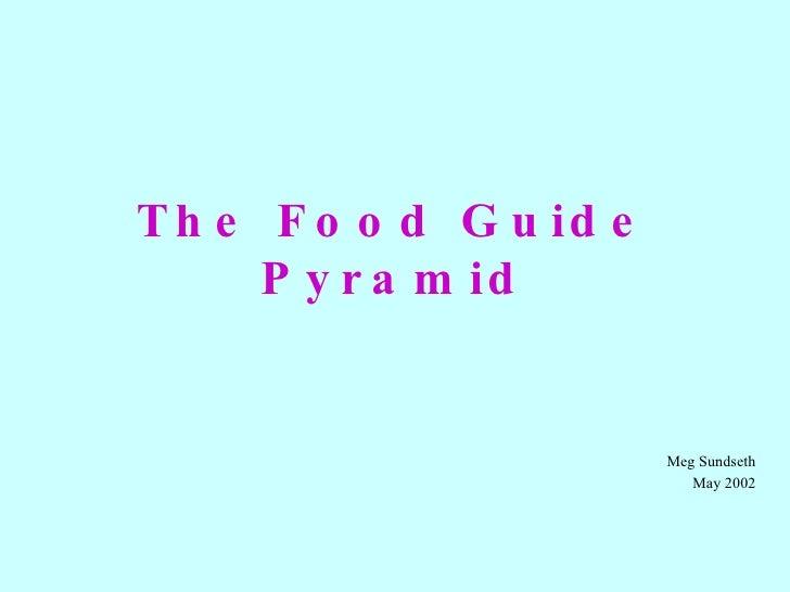 The Food Guide Pyramid Meg Sundseth May 2002