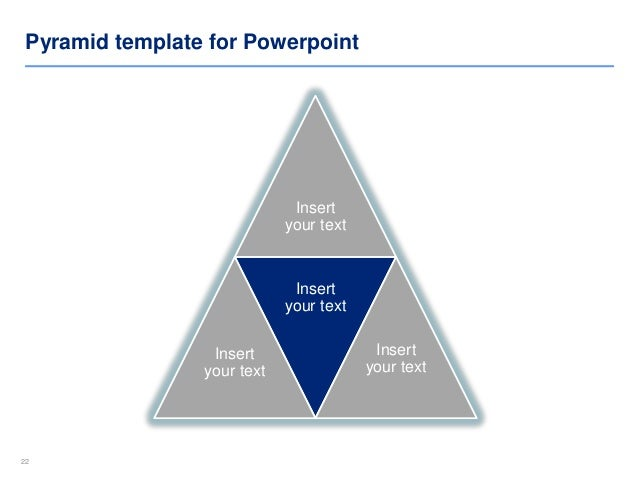 Pyramid Diagram Templates  By ExDeloitte Designers
