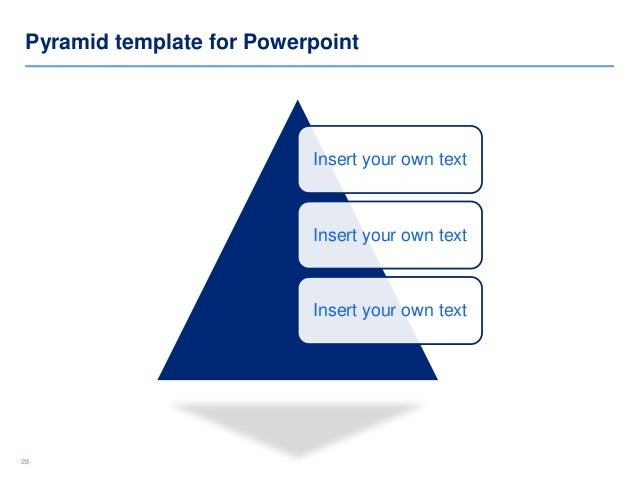 Pyramid Diagram Templates | By Ex-Deloitte Designers