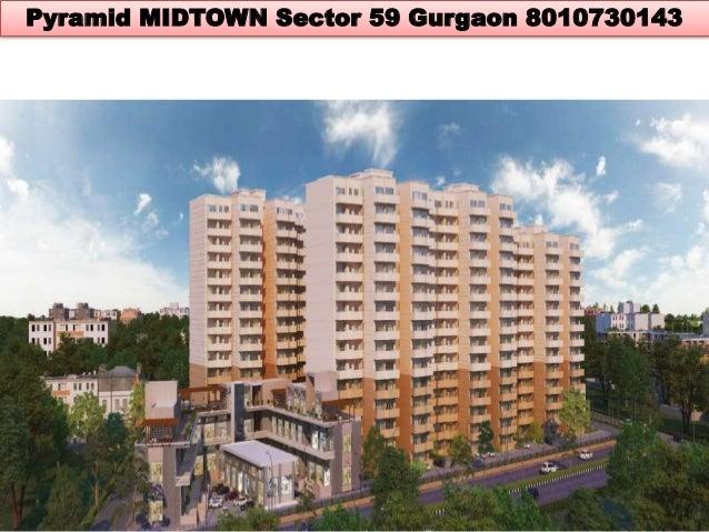 Pyramid Midtown sector 59 Gurgaon affordable housing