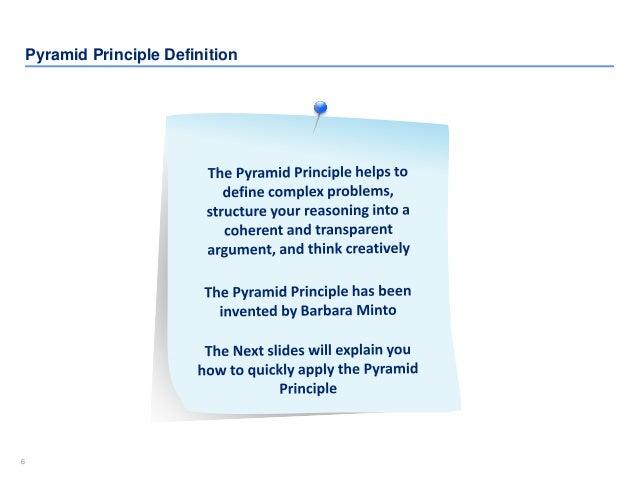 66 Pyramid Principle Definition