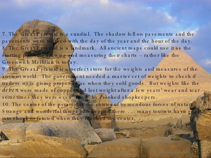 pyramids facts