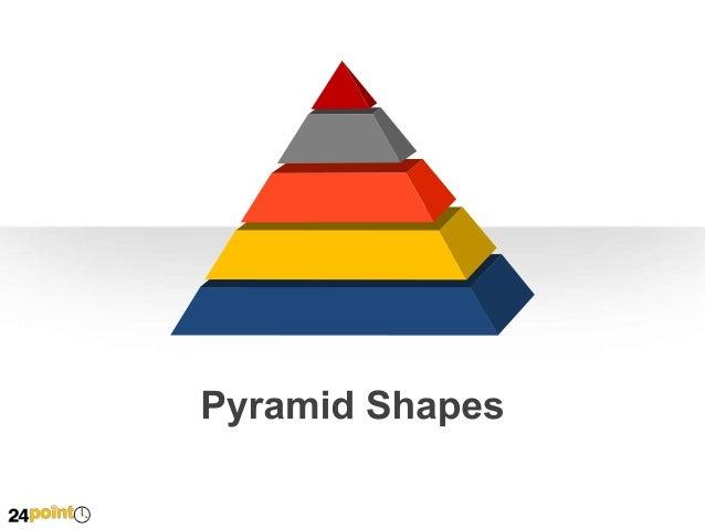 Pyramid Shapes  A  B  C  1st Row Text  2nd Row Text  3rd Row Text