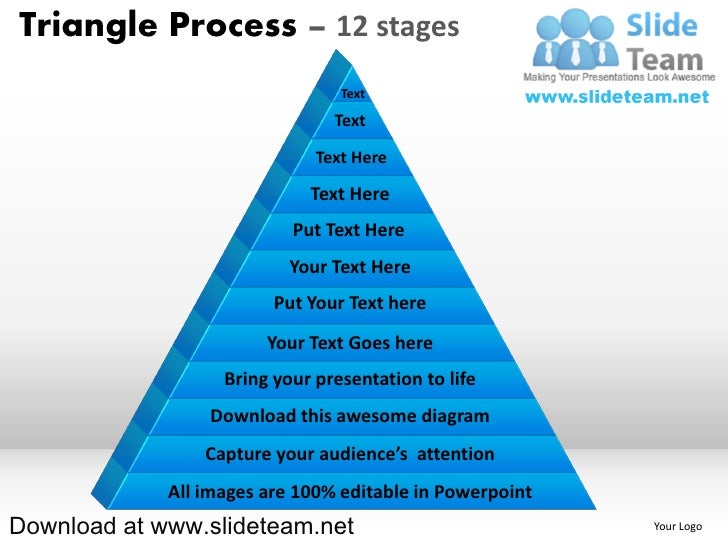 Triangle Process – 12 stages                                 Text                                Text                     ...