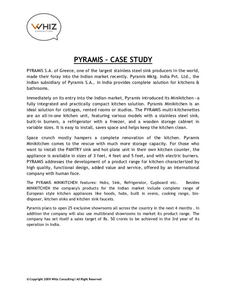 PYRAMIS – CASE STUDYPYRAMIS S.A. of Greece, one of the largest stainless steel sink producers in the world,made their fora...