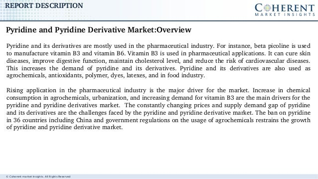 Pyridine and Pyridine Derivative Market - Global Industry Insights, Trends, Outlook, and Opportunity Analysis, 2017-2025 Slide 2