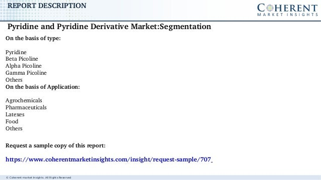 Pyridine and Pyridine Derivative Market - Global Industry Insights, Trends, Outlook, and Opportunity Analysis, 2017-2025 Slide 3