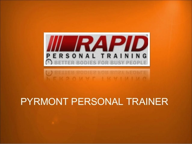 PYRMONT PERSONAL TRAINER