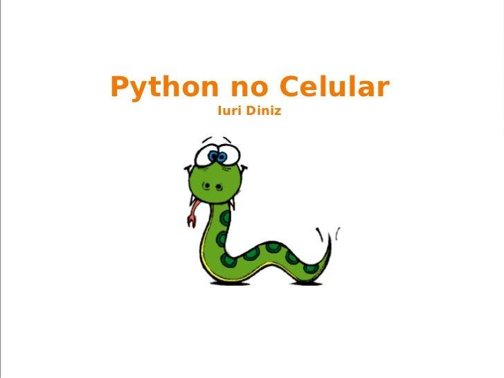 Python no Celular Iuri Diniz