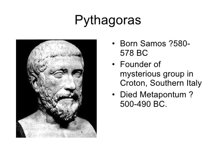 a biography of pythagoras of samos Bust of pythagoras at thevatican museum pythagoras of samos was a famous greek mathematician and philosopher, born between 580 and.