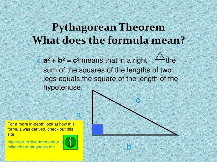 pythagoras theorem history pythagorean