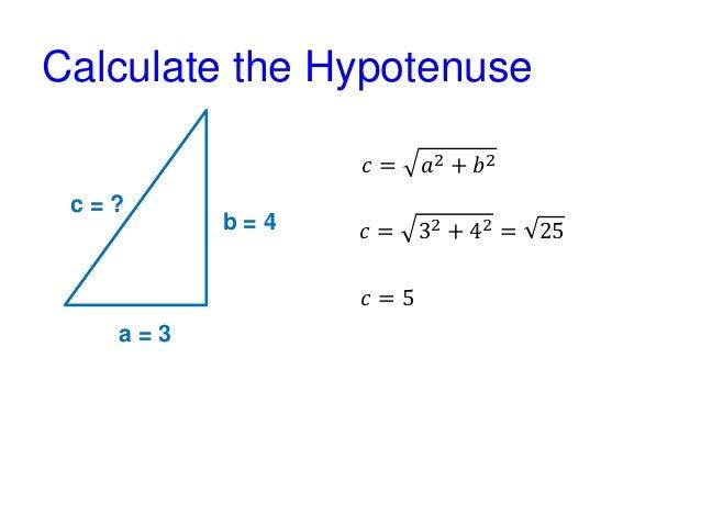 Pythagorean Theorem - Examples