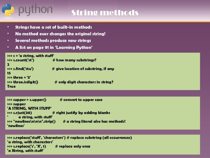 write a substring function in python