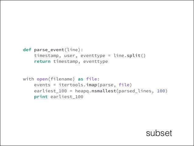 Python: with-statement, generators