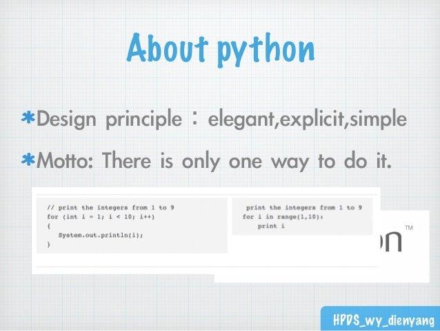 Python簡介和多版本虛擬環境架設 Slide 3