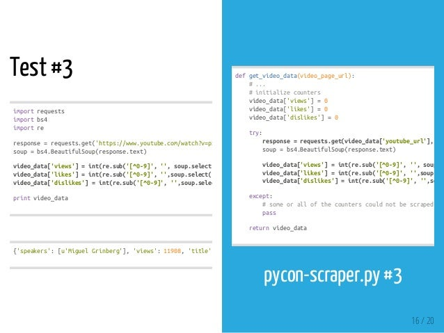 How To Scrape Youtube Using Python