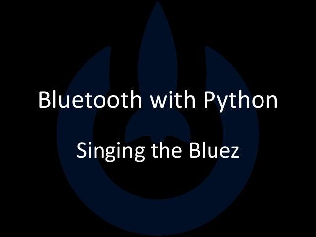 Python Bluetooth