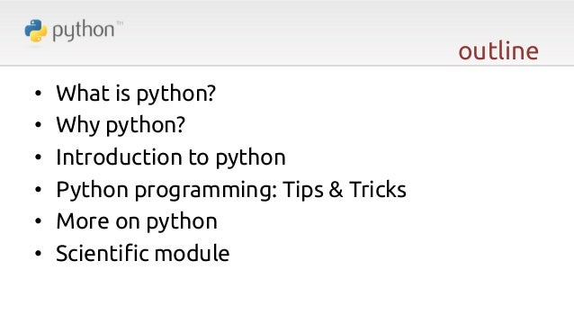 Python: The Dynamic!