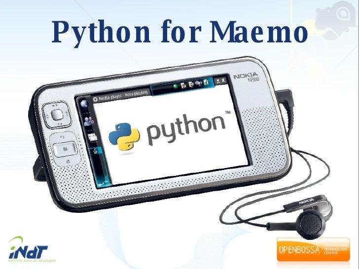 Python for Maemo