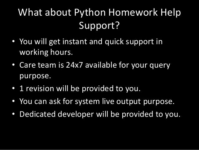 Professionals on Python project ideas are for you: