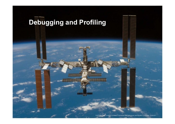 Debugging and Profiling                                                                                                   ...