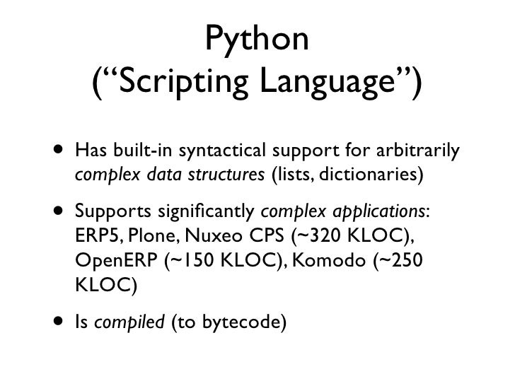 Recap: 4 pain points• Speed• Scalability• Type-safety• Adherence to external code bases, and an  implementation (CPython)