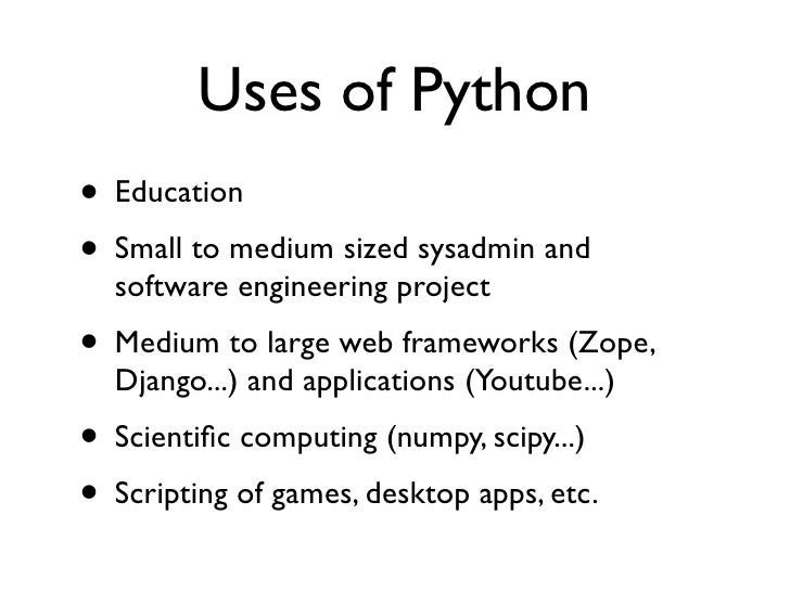 • Python could maybe be made 10x faster by  applying ideas from Clojure and V8• Python could be made more scalable by  rem...