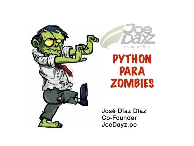José Díaz Díaz Co-Founder JoeDayz.pe