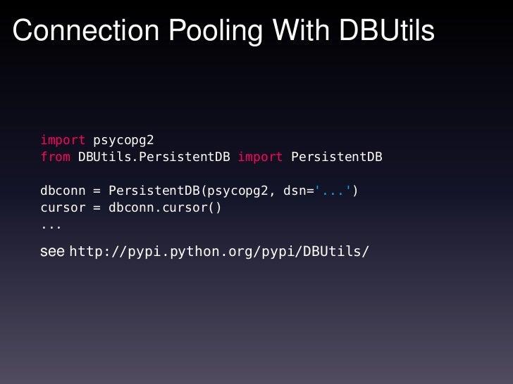 Programming with Python and PostgreSQL