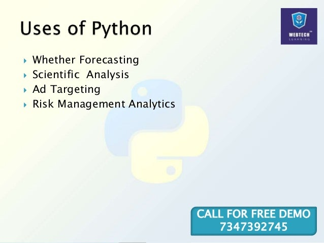 Whether Forecasting  Scientific Analysis  Ad Targeting  Risk Management Analytics CALL FOR FREE DEMO 7347392745