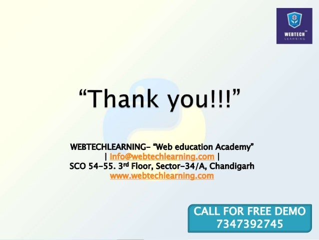 """WEBTECHLEARNING- """"Web education Academy"""" 
