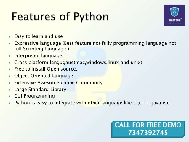  Easy to learn and use  Expressive language (Best feature not fully programming language not full Scripting language ) ...