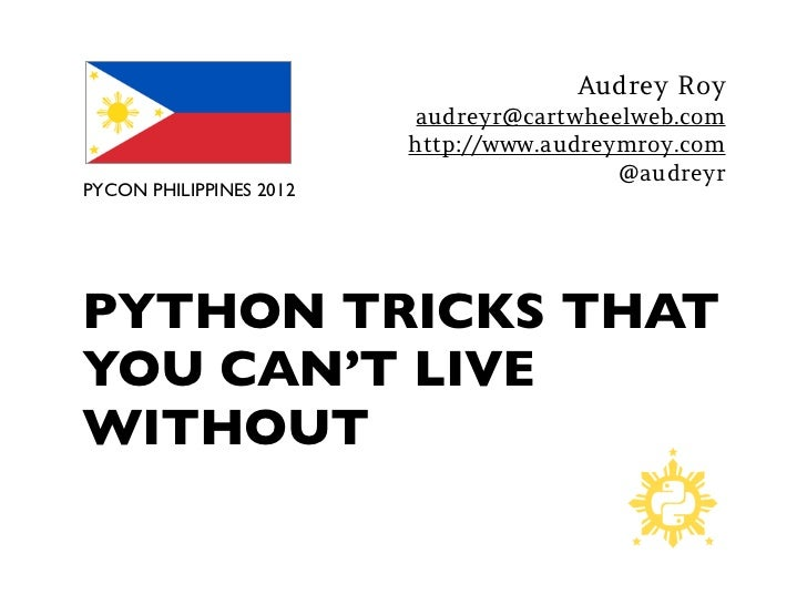 Audrey Roy                          audreyr@cartwheelweb.com                         http://www.audreymroy.com            ...