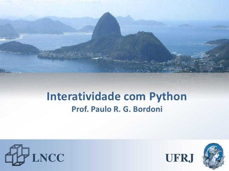 Python 02 - Interatividade